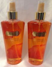 2 Victoria's Secret Amber Romance Body Mist Spray Set of 2 Fantasy perfume