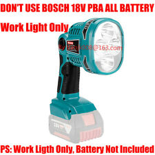 1x Work Light Fits Bosch 18V Bat614/618 Li-Ion Batteries(1120Lm)- w/ 5V Usb Port