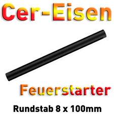 Cereisen-Stab-Anode Auermetall Elektrode 100 x 8mm Feuerstahl rund Zündstein Cer