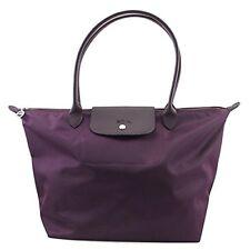 100% Auth Longchamp Le Pliage Neo Large Tote Bag Bilberry 1899578645