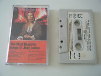 JUDY COLLINS THE MOST BEAUTIFUL SONGS OF CASSETTE TAPE 1971 PAPER LABEL ELEKTRA