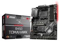 MSI B450 TOMAHAWK Socket AM4 AMD B450 SATAIII 6Gb/s USB3.1 ATX Motherboard