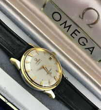 Omega Chronometer Constellation Cal O561 Gold Capped 24J Pie Pan Dial 168.005