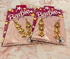 Barbie Clip on Dangle Earrings, Set of 2