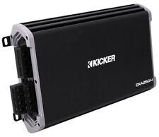 Kicker DXA250.4 Amplifier Watt 4-Channel Full-Range Car Amplifier, Black/Silver