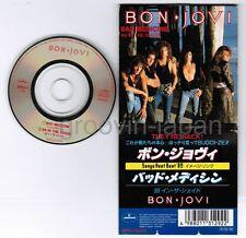 "BON JOVI Bad Medicine /99 In The Shade JAPAN 2-track 3""CD 10PD-1 SNAPPED&FOLDED"