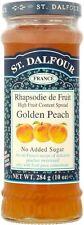St. Dalfour Golden Peach Fruit Spread No Added Sugar (4x284g)