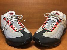 size 40 62db3 2b37b 2011 Nike Air Max 95 White Solar Red Neutral Grey Black 609048-