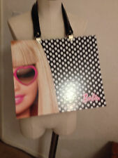 "Barbie ""Sunglasses"" Fab Card Board Travel Bag 13"" x 11"" Preowned"