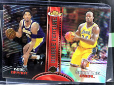 1999  Topps Finest  Double Feature Kobe Bryant Shaquille Oneal DF 14 REFRACTOR