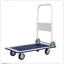 HEAVY Folding Platform Cart Dolly Foldable Moving Warehouse Hand Truck 330lbs ++