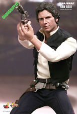 READY! HOT TOYS 1977 STAR WARS EP IV NEW HOPE HAN SOLO HARRISON FORD RARE MISB