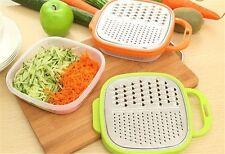 Vegetable Shredder Cutter Peeler Grater Slicer Stainless Steel Kitchen Tool