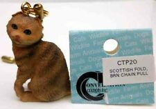 Scottish Fold, Brown Cat Chain Pull Conv. Concepts, Item Ctp20