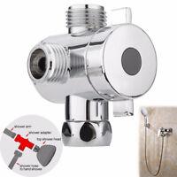 Universal Three Ways T-adapter Valve For Toilet Bidet Shower Head Diverter Valve