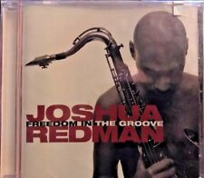 Freedom in the Groove by Joshua Redman Jazz Instrument Tenor Sax Music CD