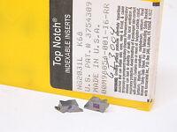 Last NEW SURPLUS 2PCS. KENNAMETAL NG 2031L GRADE: K68 CARBIDE INSERTS
