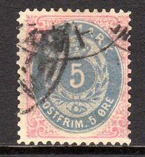 Denmark - 1875 Definitives Numeral - Mi. 24 Iy FU