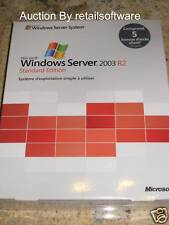 Microsoft Windows Server 2003 R2 Standard French, 5 CAL, Brand New, PN P73-01686