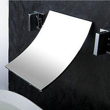 Luxury Waterfall Wall Mounted Bath& Basin Sik Mixer Tap Chrome Faucet GID2956