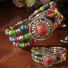 beautiful Handmade Fashion Tibetan Silver Bracelet Tibet Bangle L216
