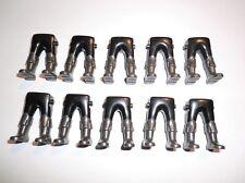 Playmobil 10 Ritter garde piratas marineros piernas negro botas antracita