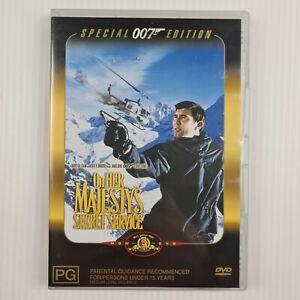 On Her Majesty's Secret Service DVD - James Bond - 007 - Region 4 - TRACKED POST