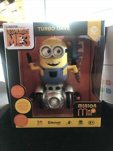 Despicable Me 3 Turbo Dave Minion Mip Bluetooth App Controlled Robot NEW SEALED