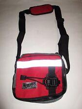 NERVOUS Records Vintage Unisex Bag Shoulder Tote w/Strap  RED 7 X 7 X 4 NEW