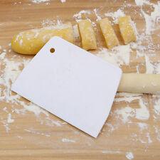 Kitchen Pastry Flour Dough Scraper Plastic Cutter Baking Cake slicer Gadget DIY