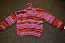 Handmade Striped Jumpers & Cardigans (0-24 Months) for Girls