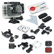 Qumox SJ5000 schwarz Action Sport Cam Kamera Waterproof Full HD Helmkamera DV