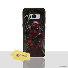 Marvel Case/Cover Samsung Galaxy S7 Edge G935 / 3D Gel Deadpool - 5 Dollar Bill