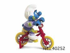 Figurine plastique Schtroumpfs (Les) Schtroumpf à vélo acrobatique