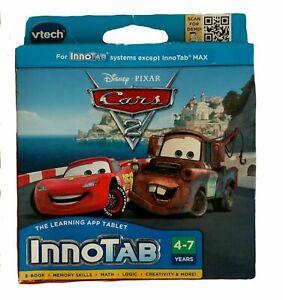 VTech -Disney Pixar Cars 2  InnoTab Software  Game NIP