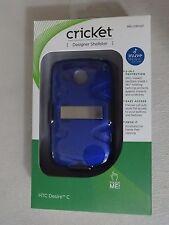 Cricket Wireless HTC Desire C Blue Designer Shellster SKU CSH127 Bran New In Box