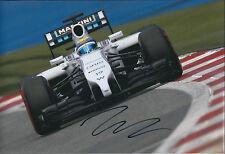 Felipe MASSA Signed Autograph Photo Williams F1 Autograph AFTAL COA Spielberg GP