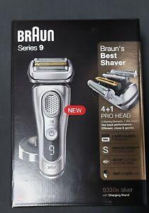 Braun Series 9 Premium 4+1 Scherkopf Elektrorasierer 9330s Silver