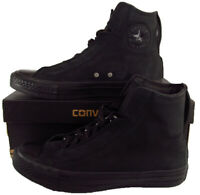 Converse Chuck Taylor All Star Alpha Hi High Top Black Suede 151131C 9 MEN