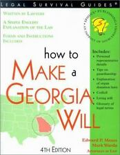 How to Make a Georgia Will, 4th Edition (Legal Survival Guides)