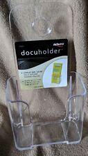 1 Case (18) deflect-o Docuholder Leaflet Size Countertop/Wall Mount Rounded Edge