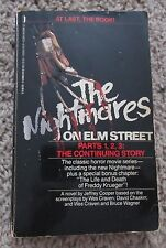 THE NIGHTMARES ON ELM STREET PARTS 1 2 3 THE CONTINUING STORY FREDDY KRUEGER