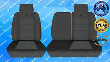 TOYOTA LANDCRUISER (80 SERIES) OPTION PACK S/WAGON 1991-1994 BLACK SEATCOVER