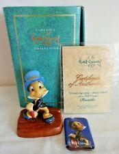WDCC Walt Disney Pinochio, Cricket's the Name- Jiminy Cricket, Box + Certificate