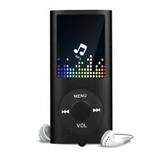 40 Hours HiFi MP3 Music Player FM Lossless Sound Recorder up to 64GB + Earphone