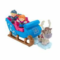 Little People GGV30 Fisher-Price Disney Frozen Kristoff's Sleigh, Figure and