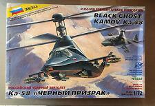 ZVEZDA 7232 - 1/72 KAMOV Ka-58 BLACK GHOST RUSSIAN STEALTH HELICOPTER - NUOVO