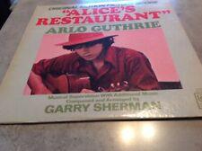 OST - Alice's Restaurant - Arlo Guthrie - LP Vinyl Album - Vgc