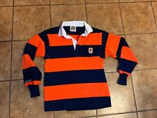 Barbarian  Adult XS orange and black Rugby Shirt