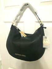 Michael Kors Bedford Medium Convertible Shoulder Hobo Bag Pebbled Leather $328